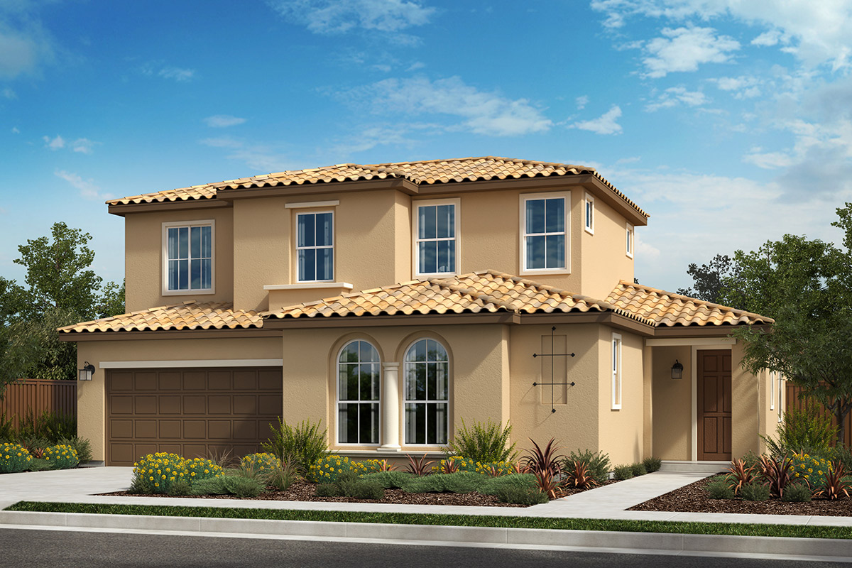 New Homes in Rohnert Park, CA - Live Oak at University District Plan 2702 Italianate C