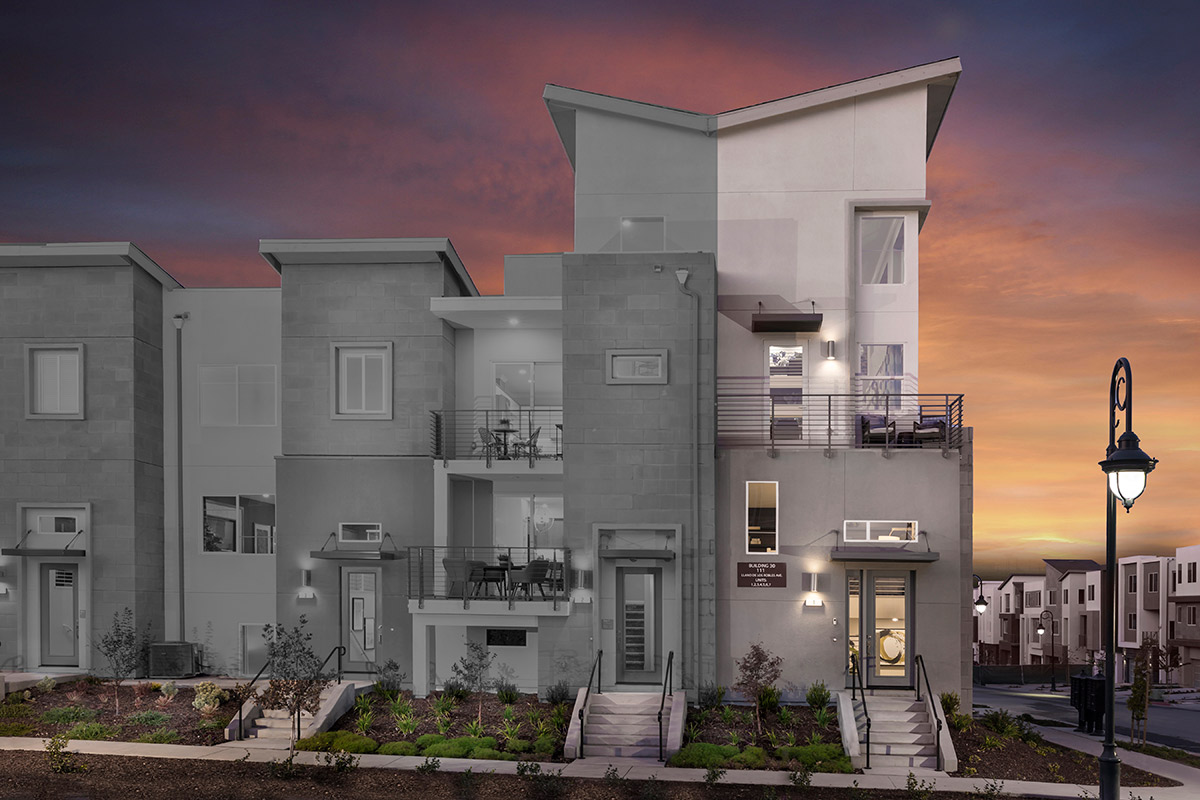New Homes in San Jose, CA - Metro II at Communications Hill Plan 2