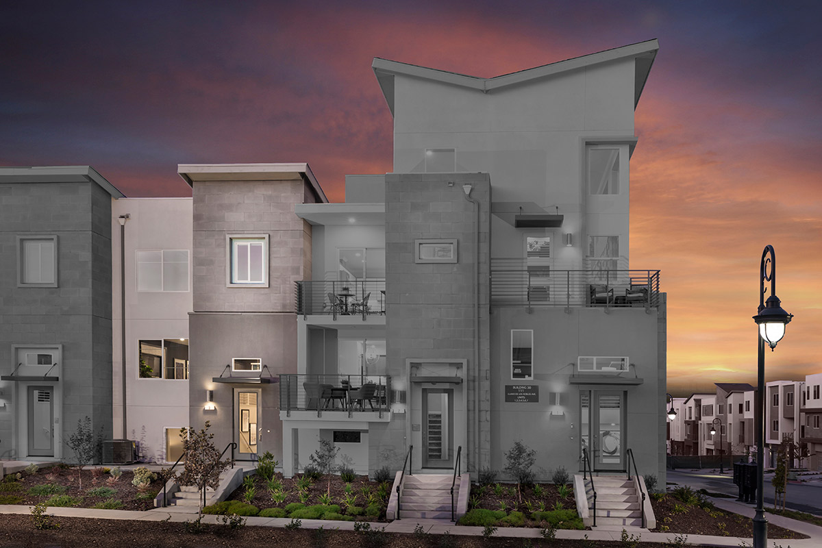 New Homes in San Jose, CA - Metro II at Communications Hill Plan 3