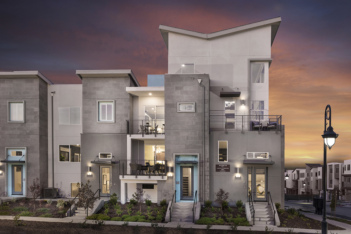 Browse new homes for sale in Metro II at Communications Hill