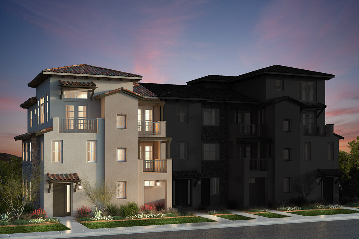 New Homes in San Jose, CA - Mediterranean: 5-Plex