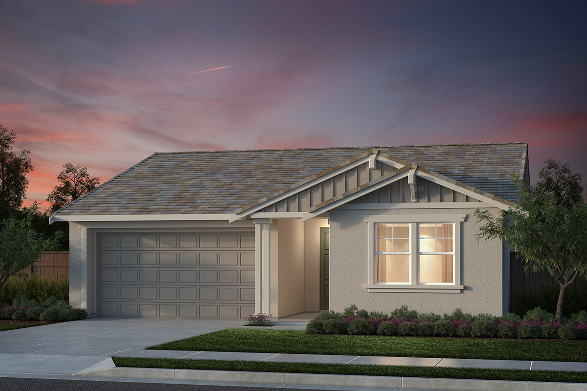 New Homes in Salinas, CA - Monte Bella Plan 1 Craftsman Elevation