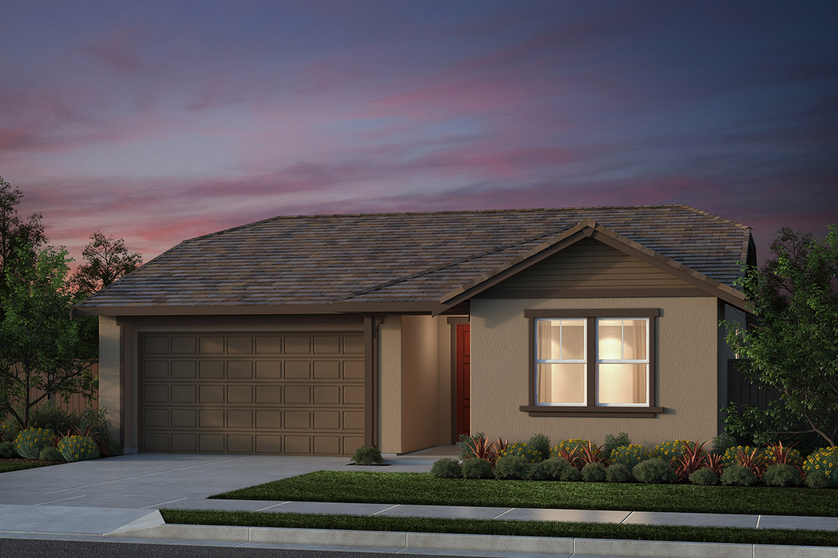 New Homes in Salinas, CA - Plan 1 French Elevation