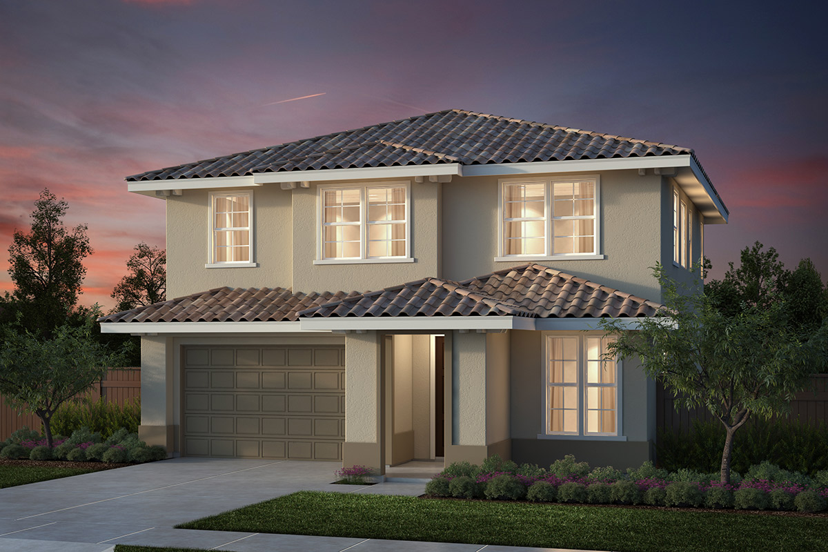 New Homes in Salinas, CA - Plan 2 Modeled