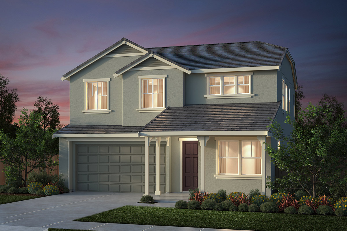 New Homes in Salinas, CA - Monte Bella Plan 2 French Elevation