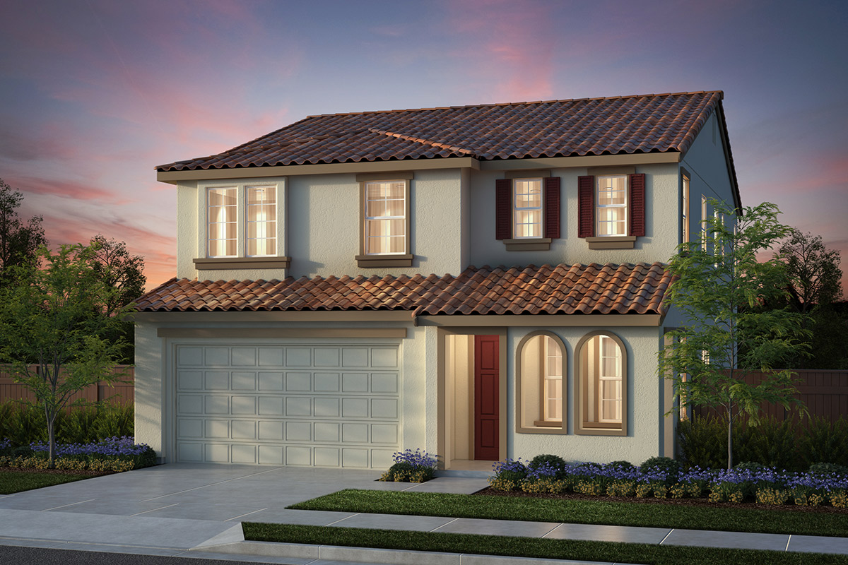New Homes in Salinas, CA - Plan 4 Spanish Elevation