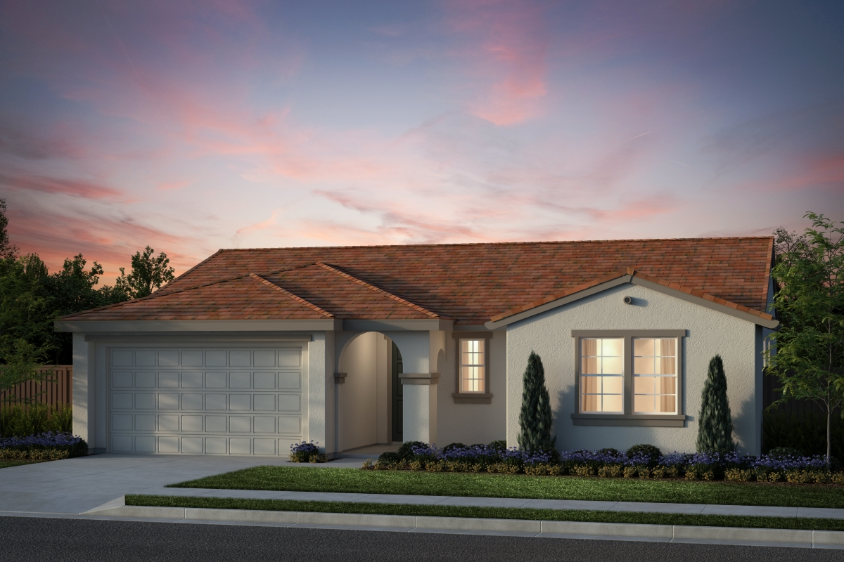 New Homes in Salinas, CA - Plan 6 Spanish Elevation