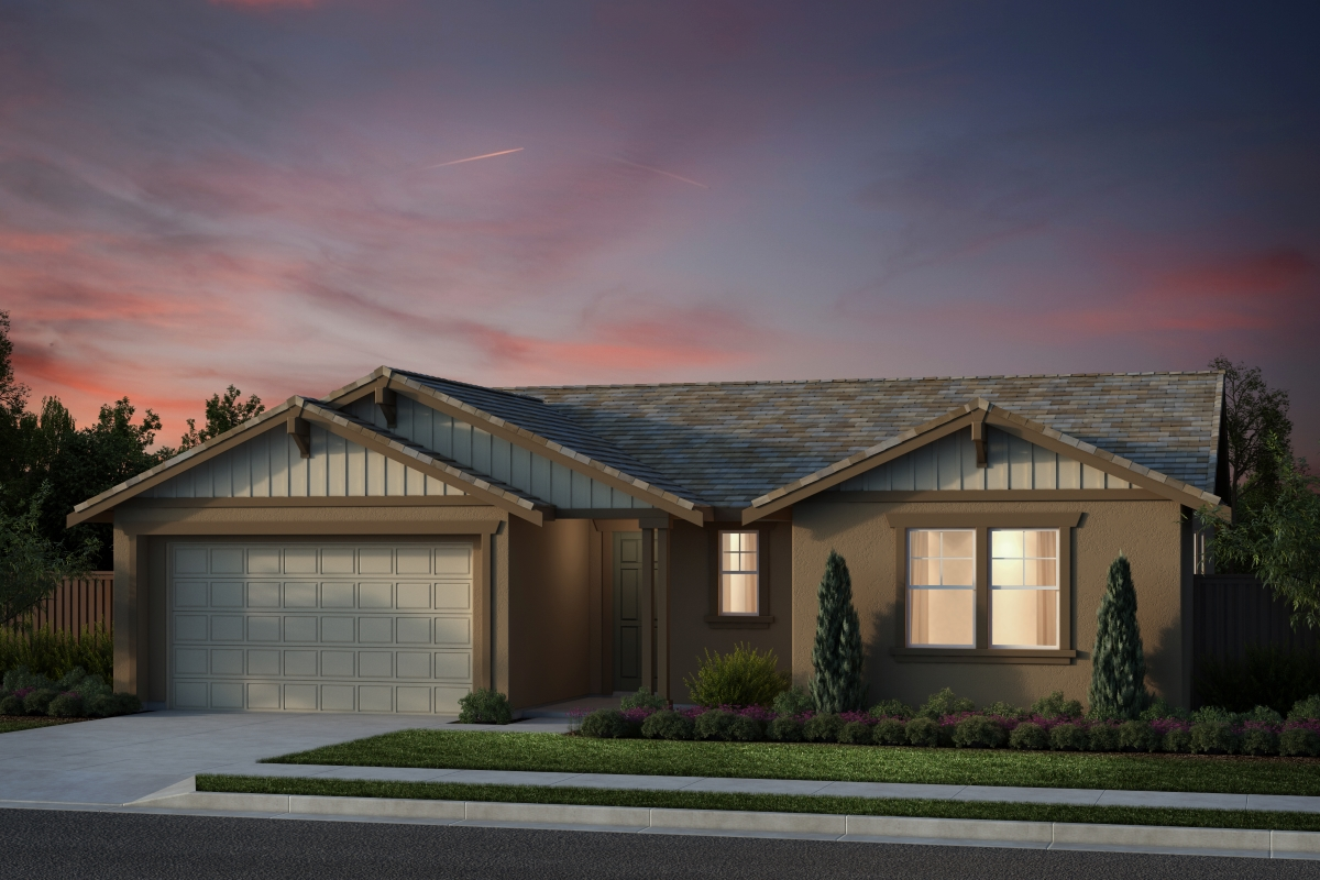 New Homes in Salinas, CA - Plan 6 Craftsman Elevation