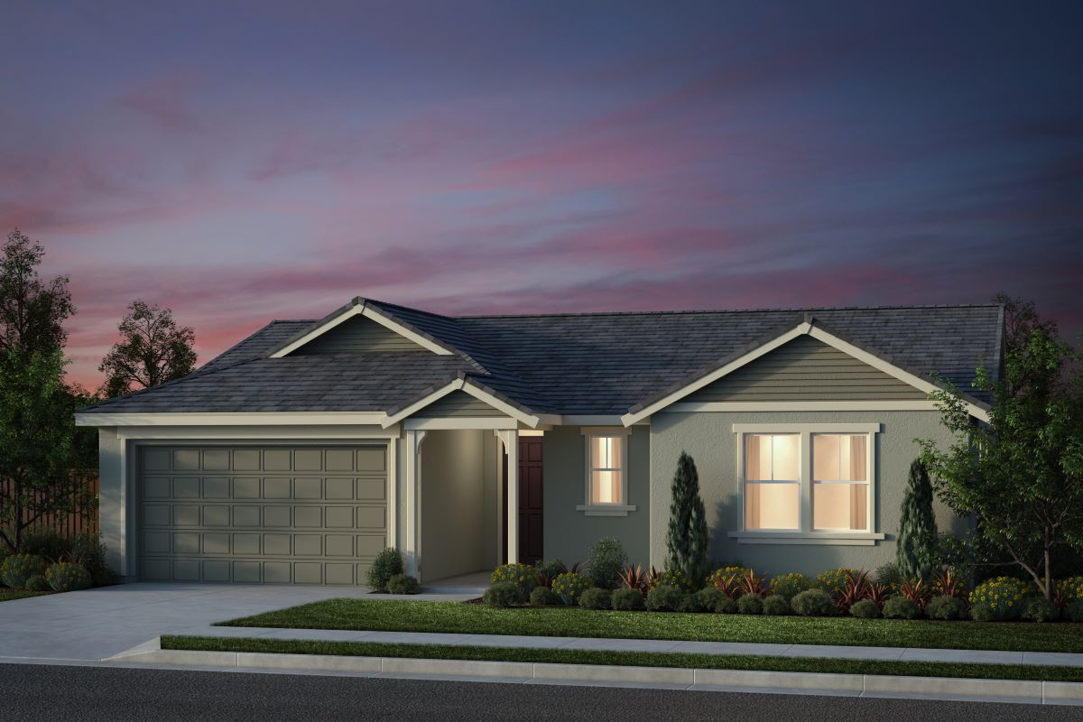 New Homes in Salinas, CA - Monte Bella Plan 6 French Elevation