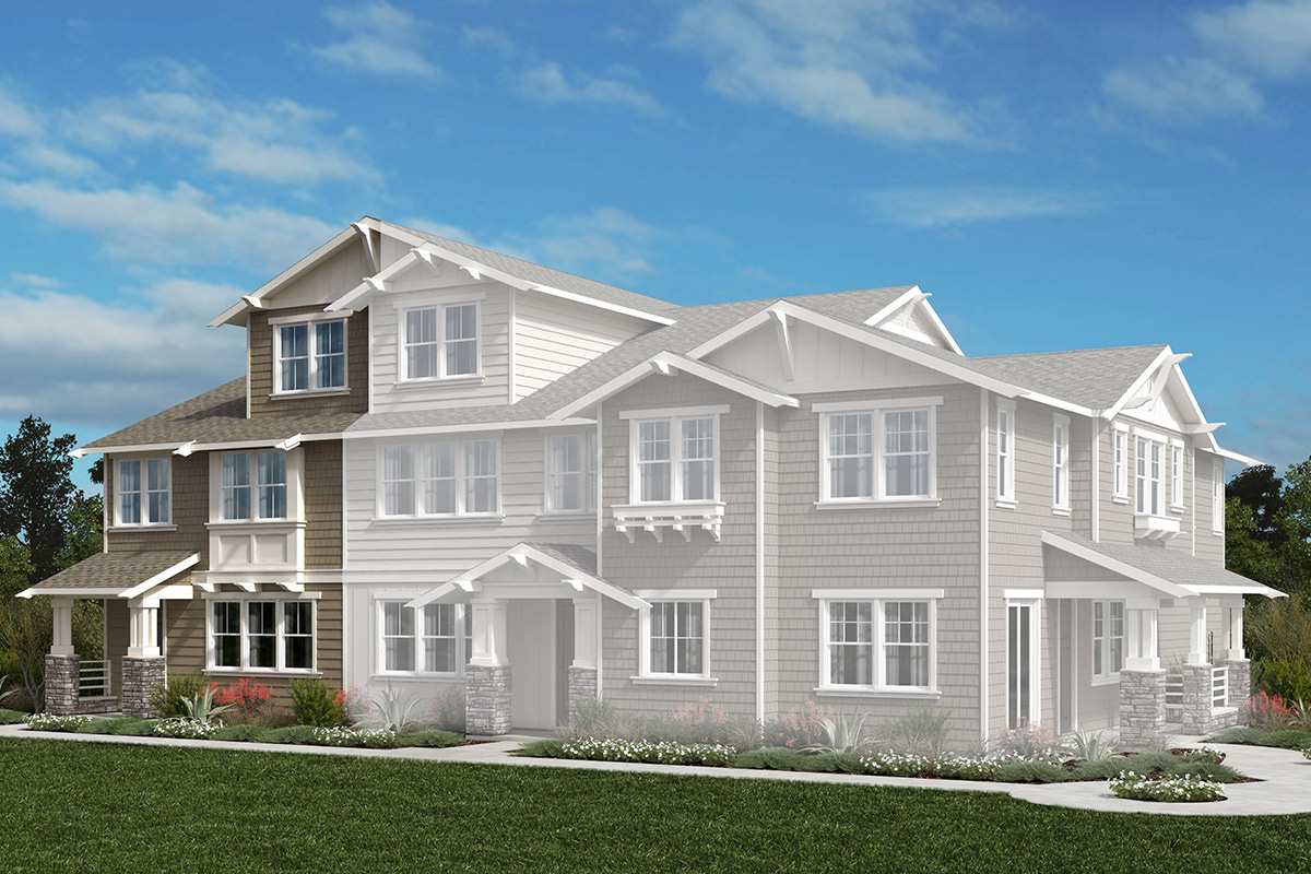 New Homes in Moraga, CA - Plan 4 Modeled