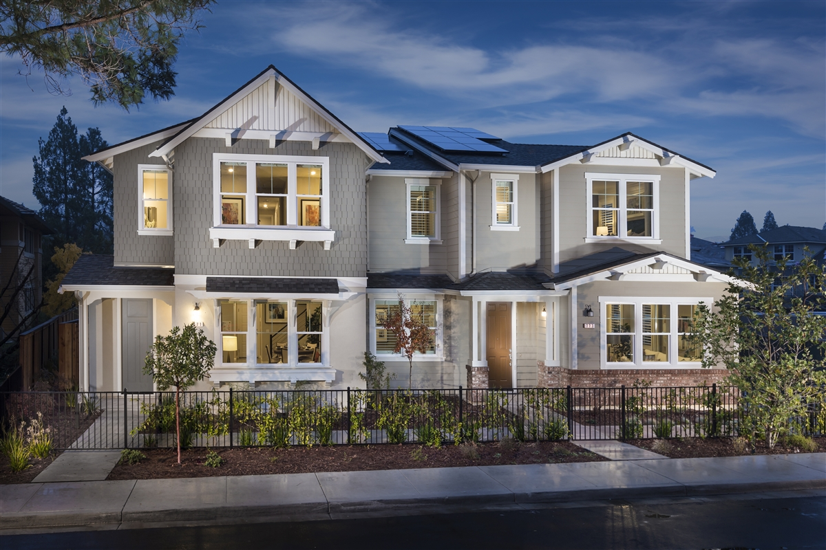 New Homes in Moraga, CA - Plan 6 Modeled