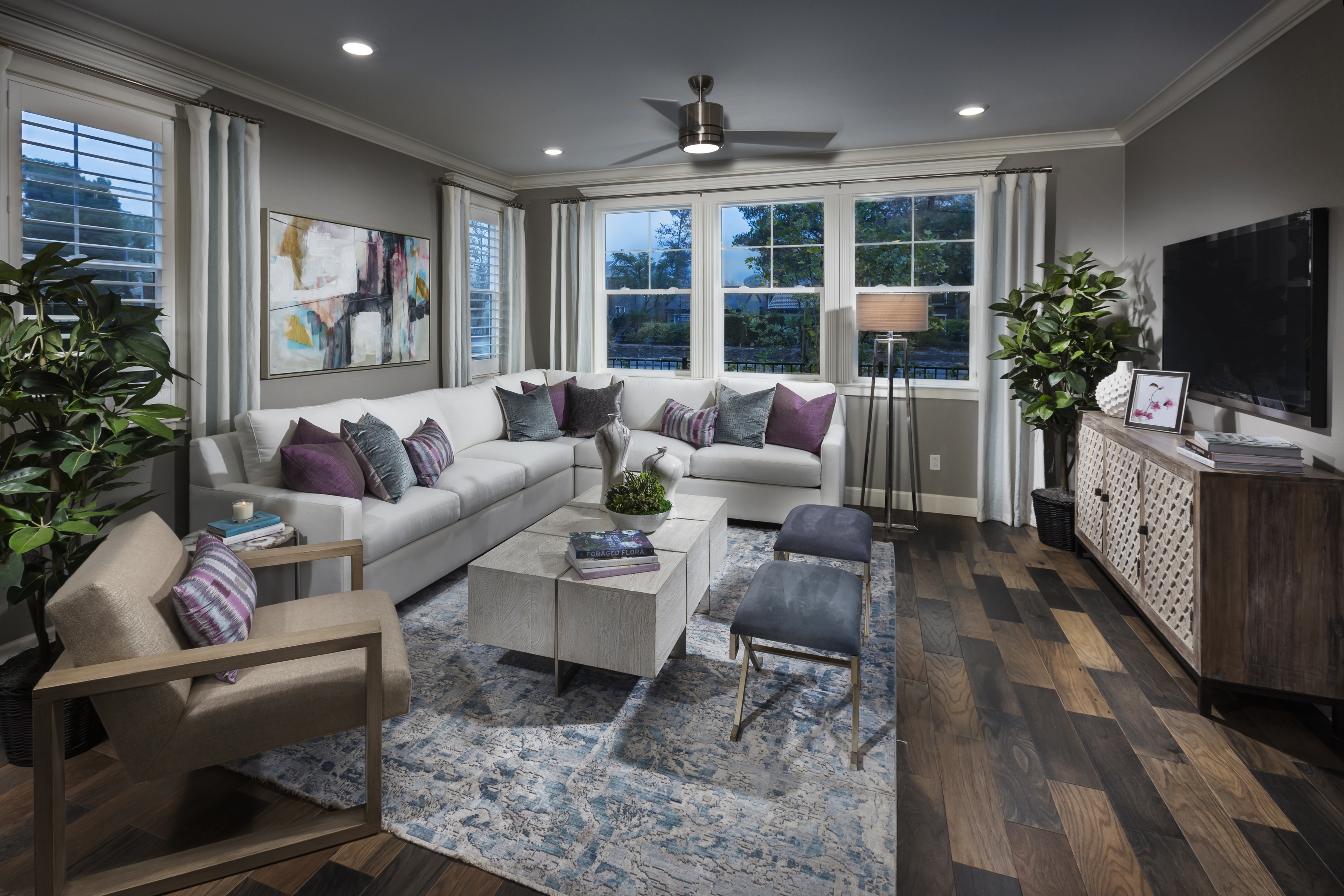 New Homes in Moraga, CA - Moraga Town Center Plan 6 - Great Room