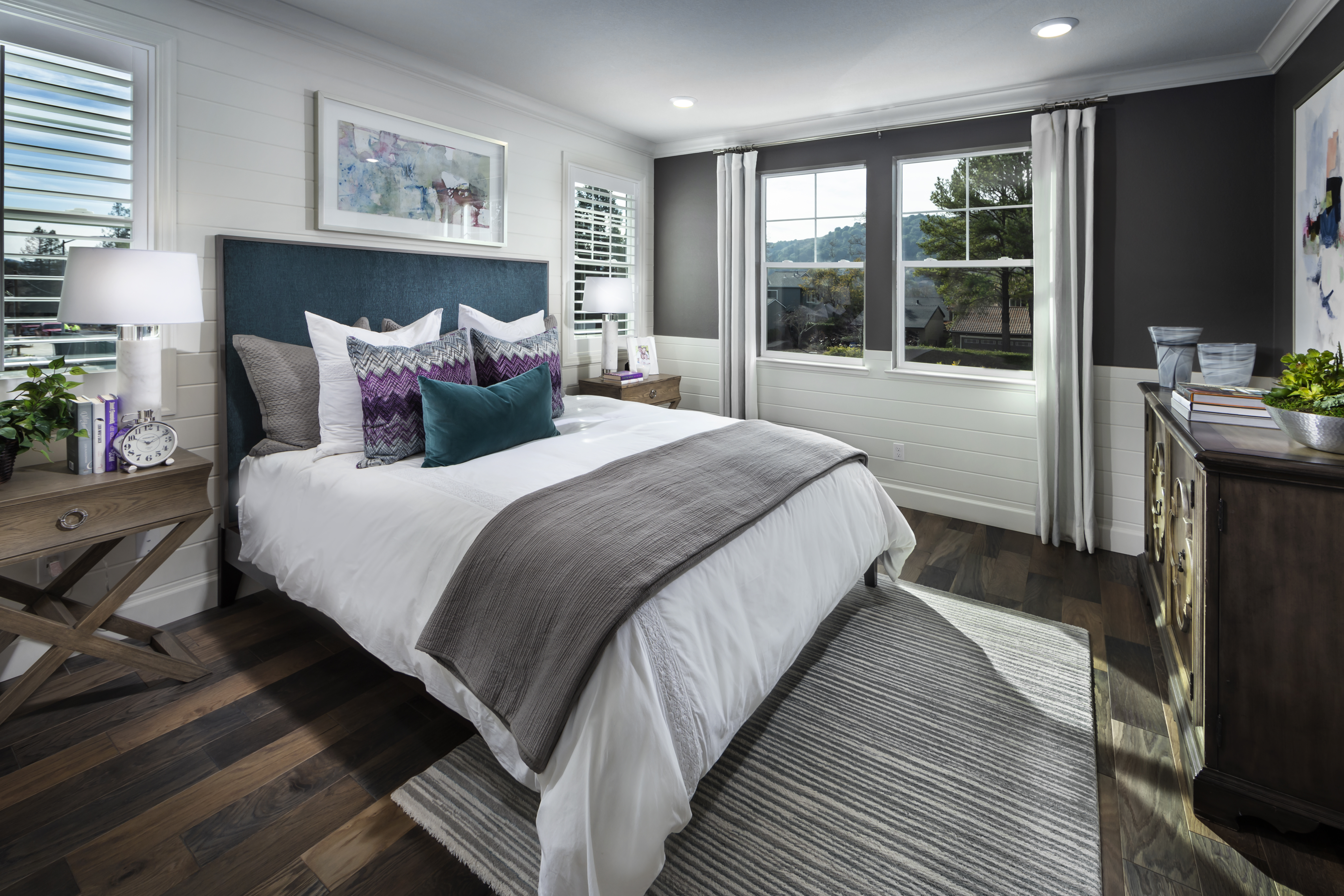 New Homes in Moraga, CA - Moraga Town Center Plan 6 - Master Bedroom