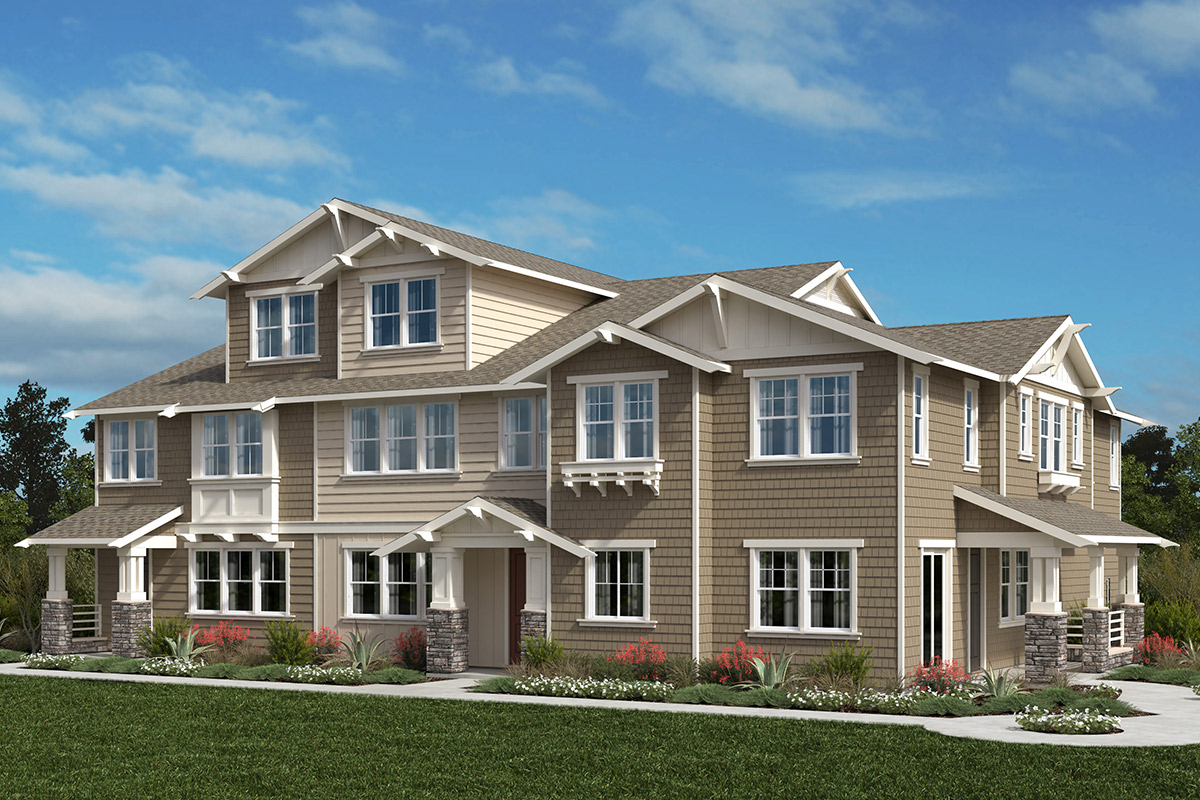 New Homes in Moraga, CA - Moraga Town Center Plan 3 Building A