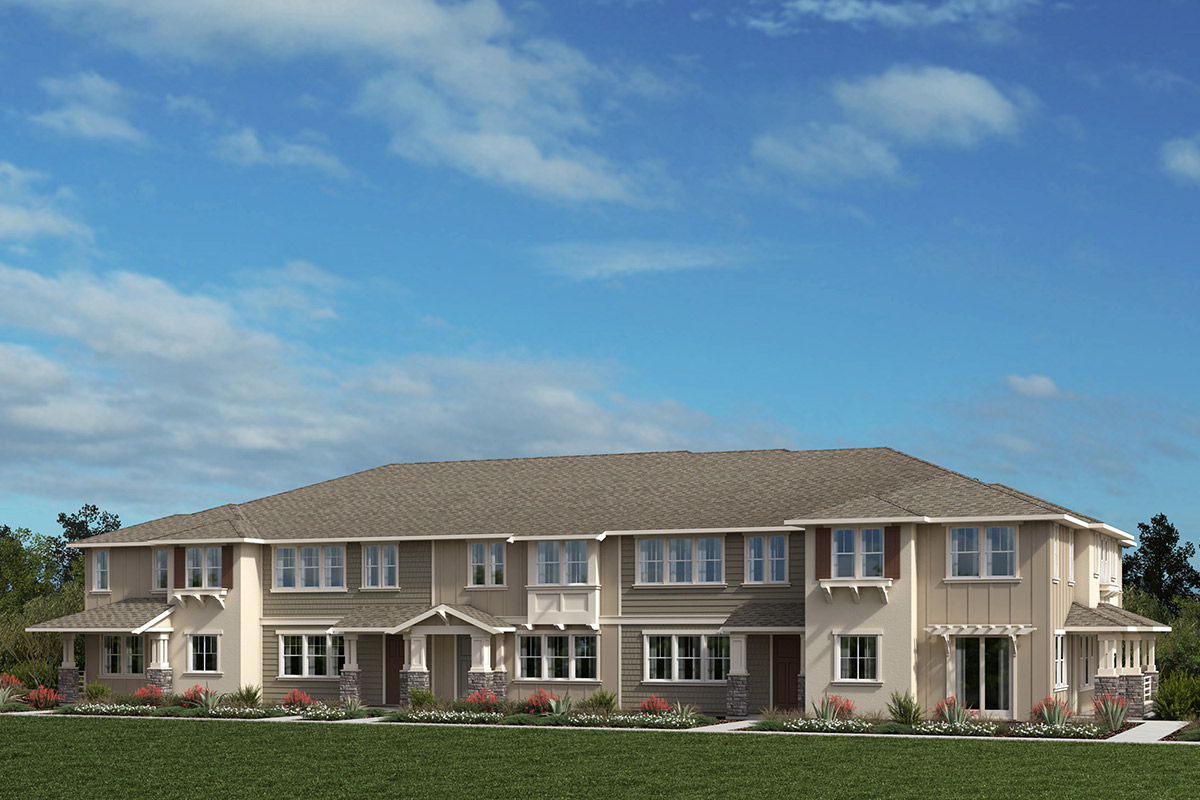 New Homes in Moraga, CA - Moraga Town Center Plan 2 Building C