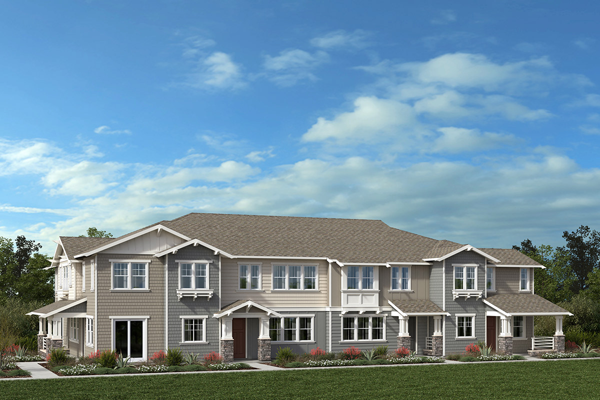 New Homes in Moraga, CA - Moraga Town Center Plan 1 Building D