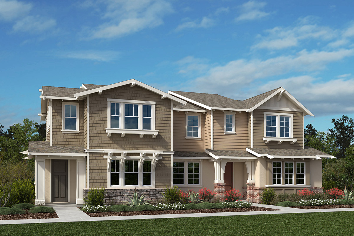 New Homes in Moraga, CA - Plan 5 Modeled