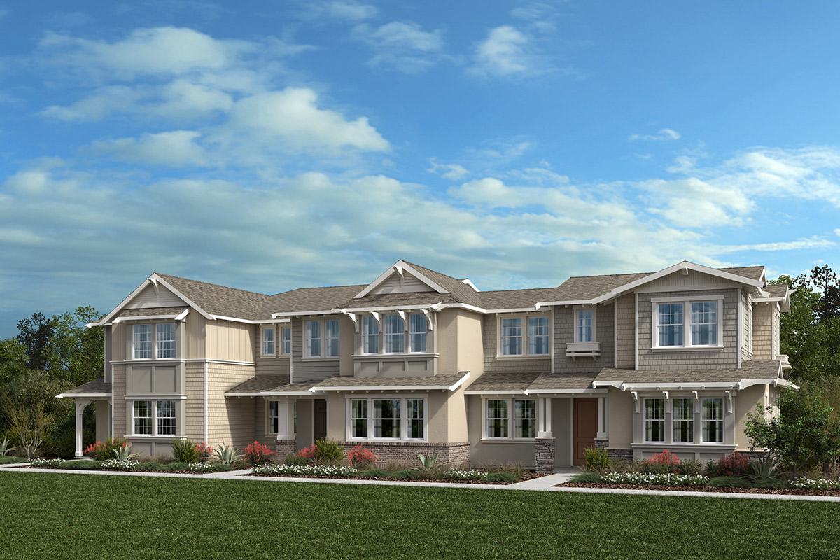 New Homes in Moraga, CA - Moraga Town Center Plan 7 Building G