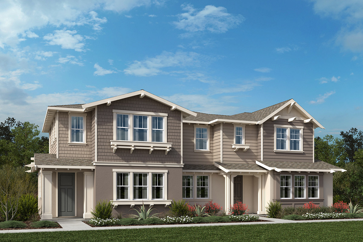 New Homes in Moraga, CA - Moraga Town Center Plan 6 Building I