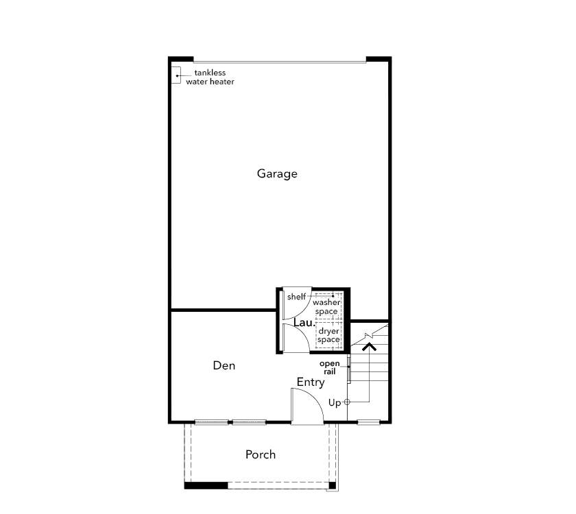 New Homes in Hayward, CA - Plan 1, First Floor