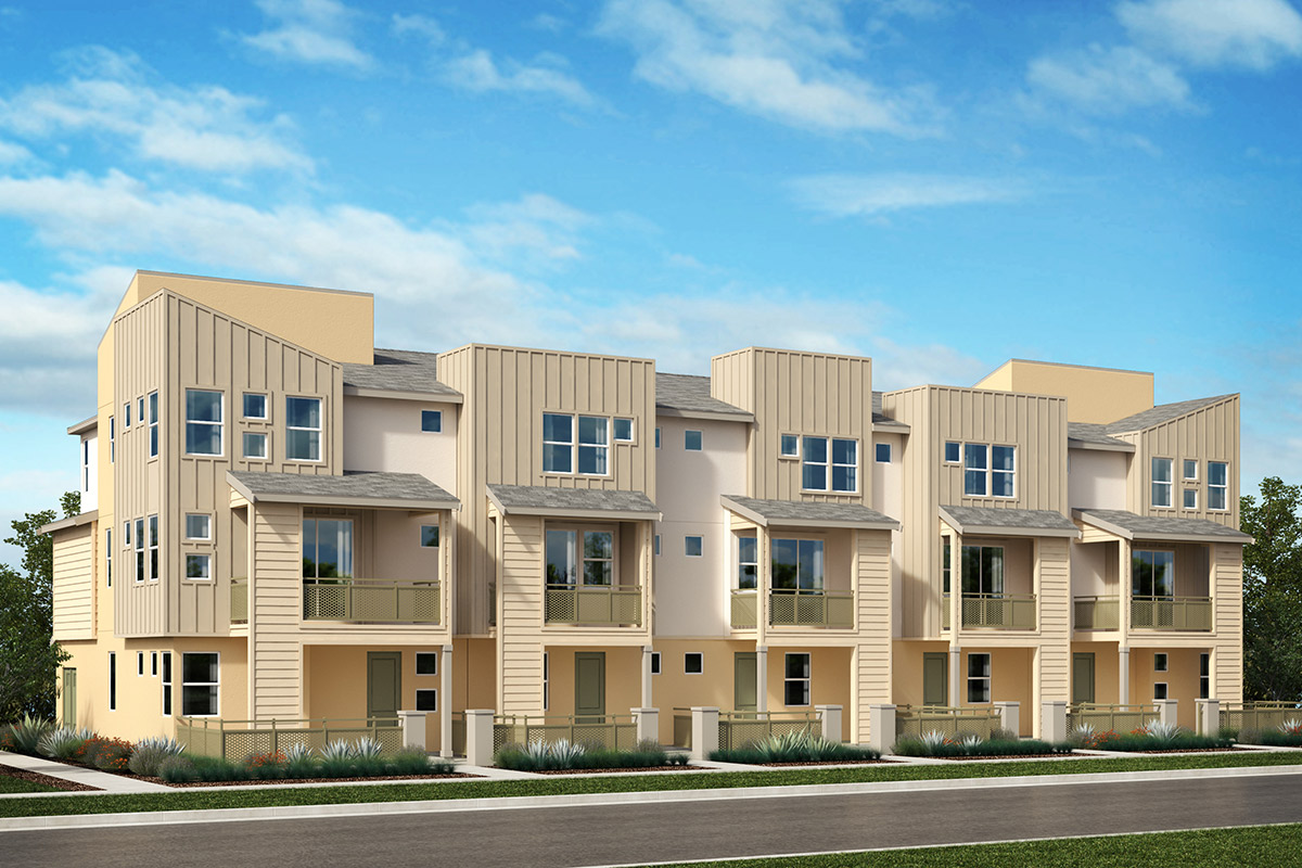 New Homes in Hayward, CA - Motion at Mission Crossing Building B: 5-Plex