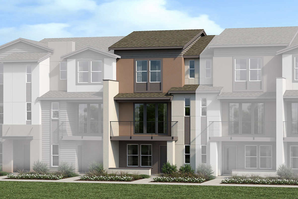 New Homes in Santa Clara, CA - Plan 1861 6-Plex Building 3