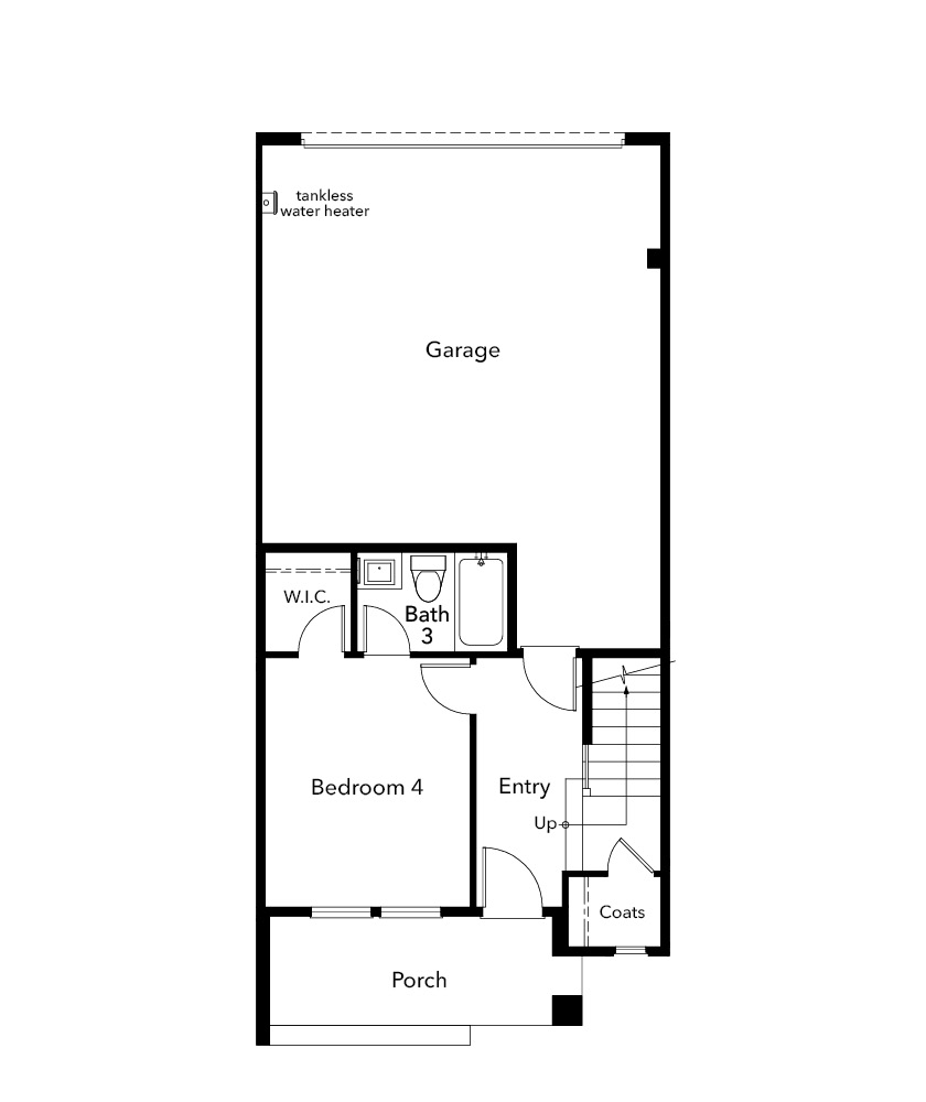 New Homes in Santa Clara, CA - Plan 1861, First Floor