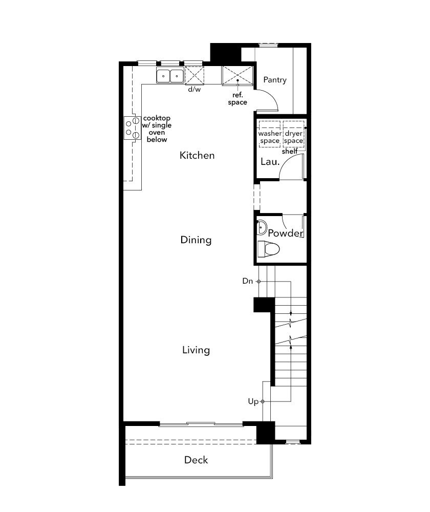 New Homes in Santa Clara, CA - Plan 1861, Second Floor
