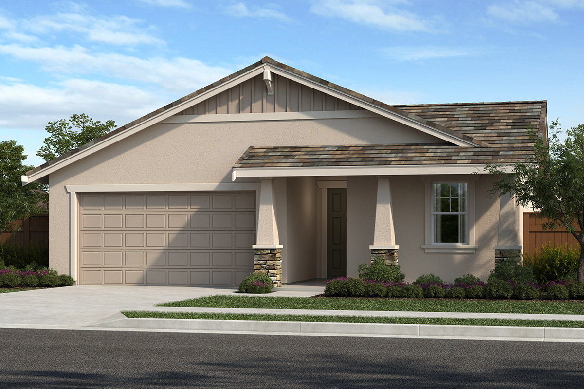 New Homes in Hollister, CA - Elevation B