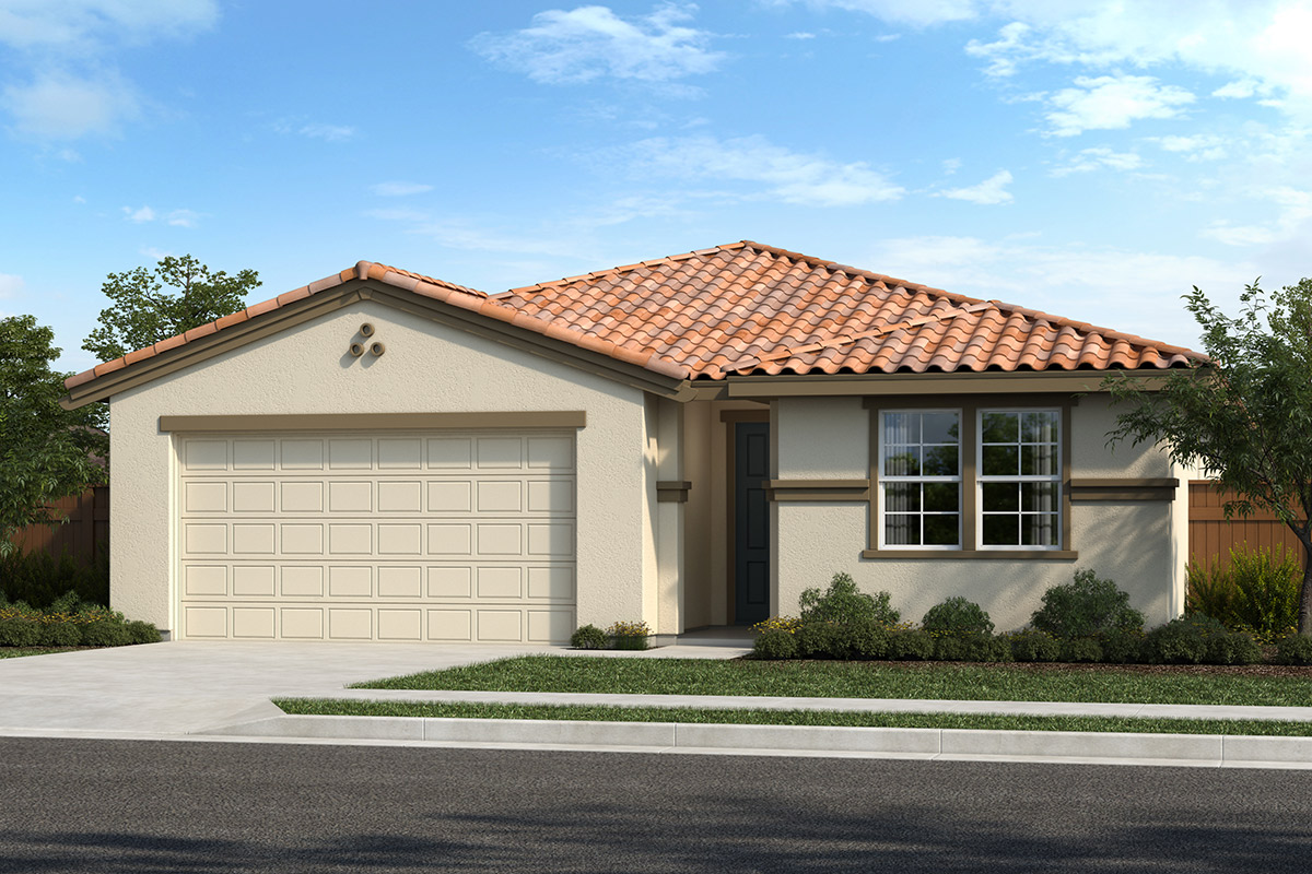New Homes in Hollister, CA - Roberts Ranch Plan 1967 Elevation F