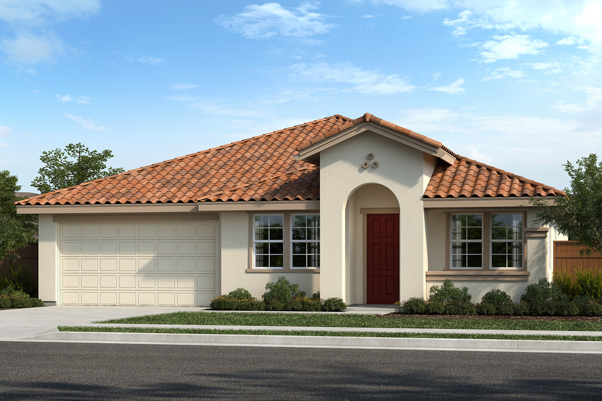 New Homes in Hollister, CA - Roberts Ranch Plan 2209 Elevation F