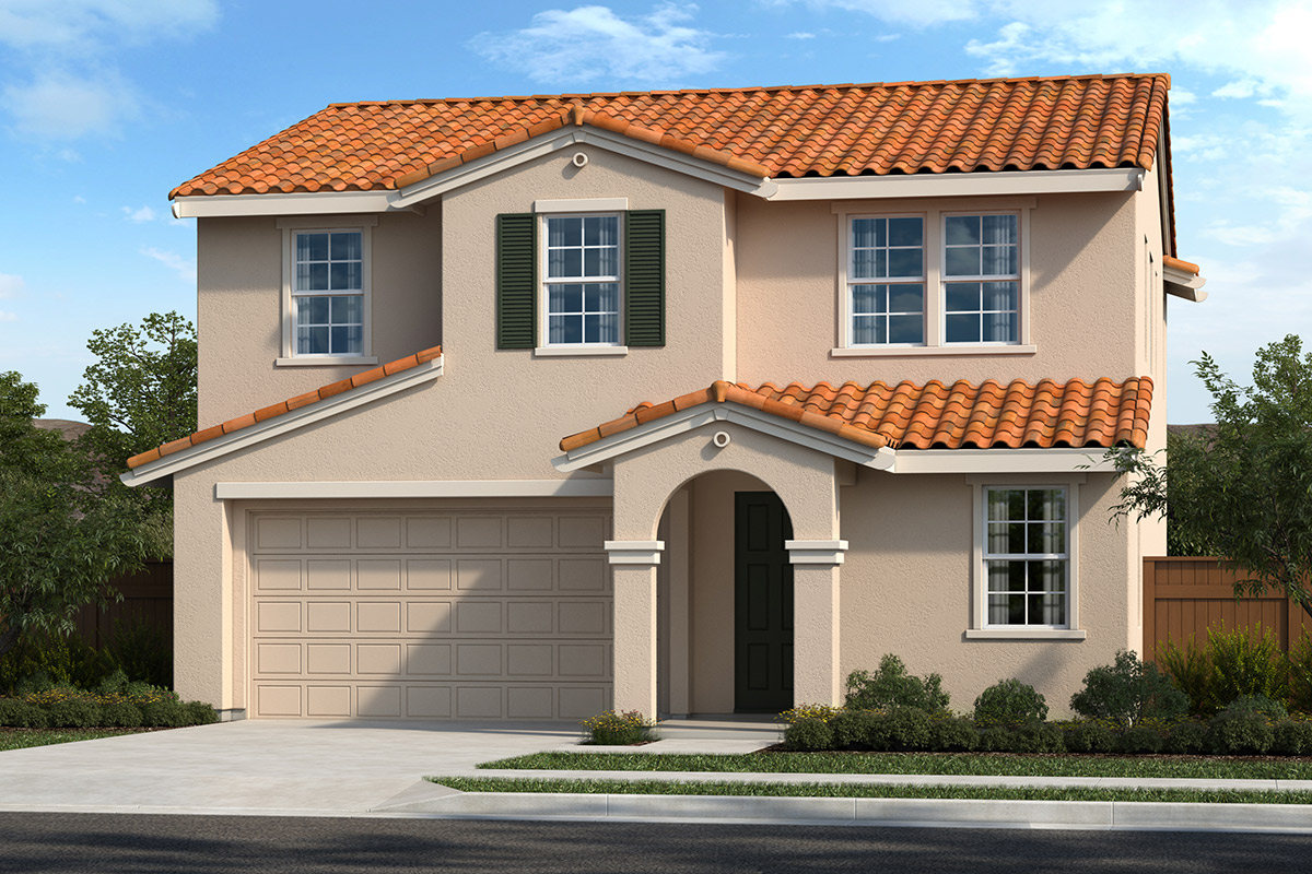 New Homes in Hollister, CA - Elevation F