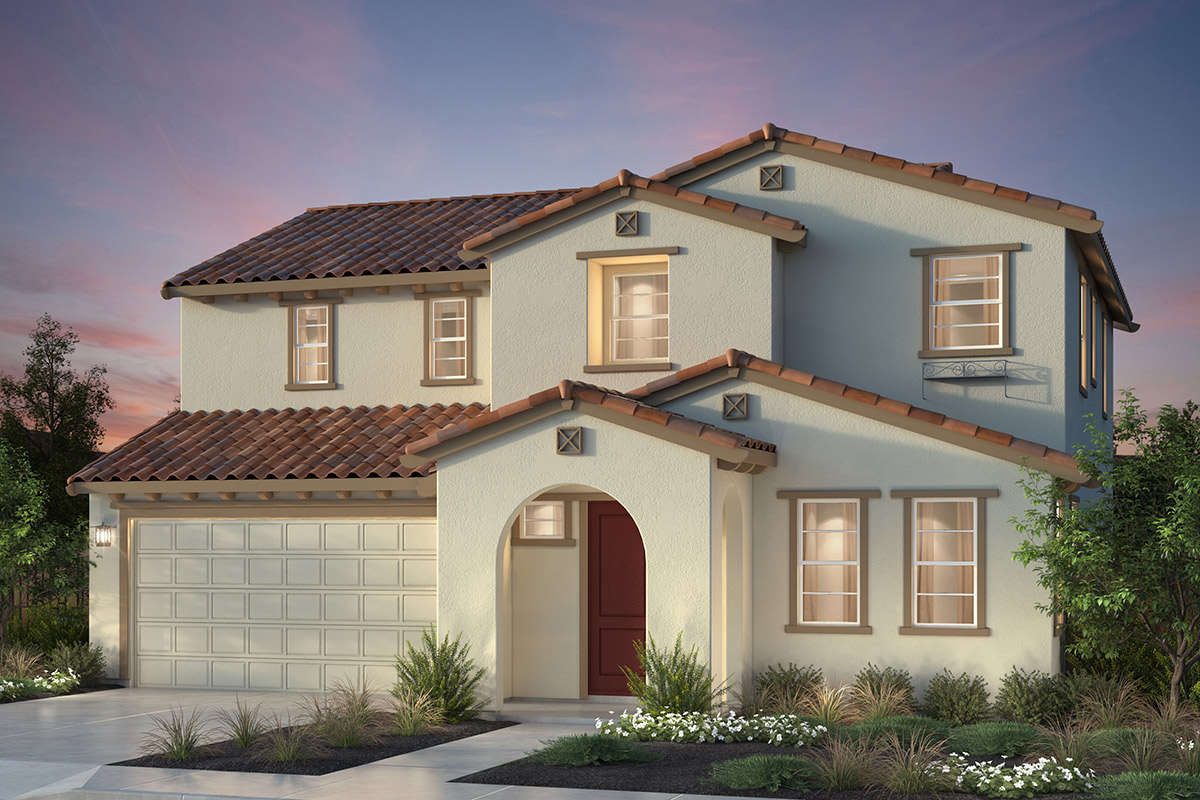 New Homes in Newark, CA - Rosebriar at Sanctuary Village Plan 1 Spanish 'A'