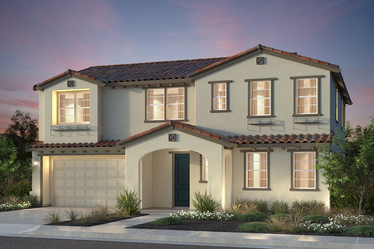 New Homes in Newark, CA - Rosebriar at Sanctuary Village Plan 3 Spanish 'A'