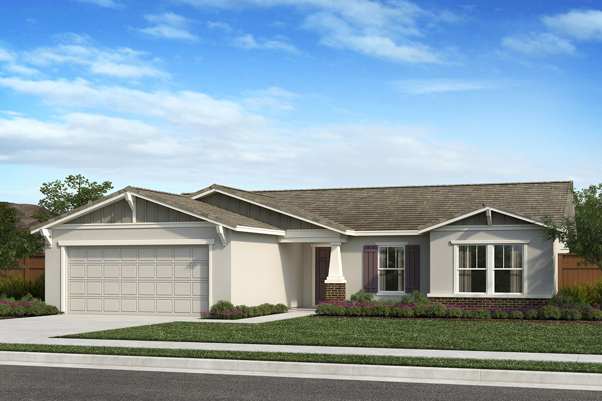 New Homes in Fresno, CA - Seville Plan 1600 Elevation B