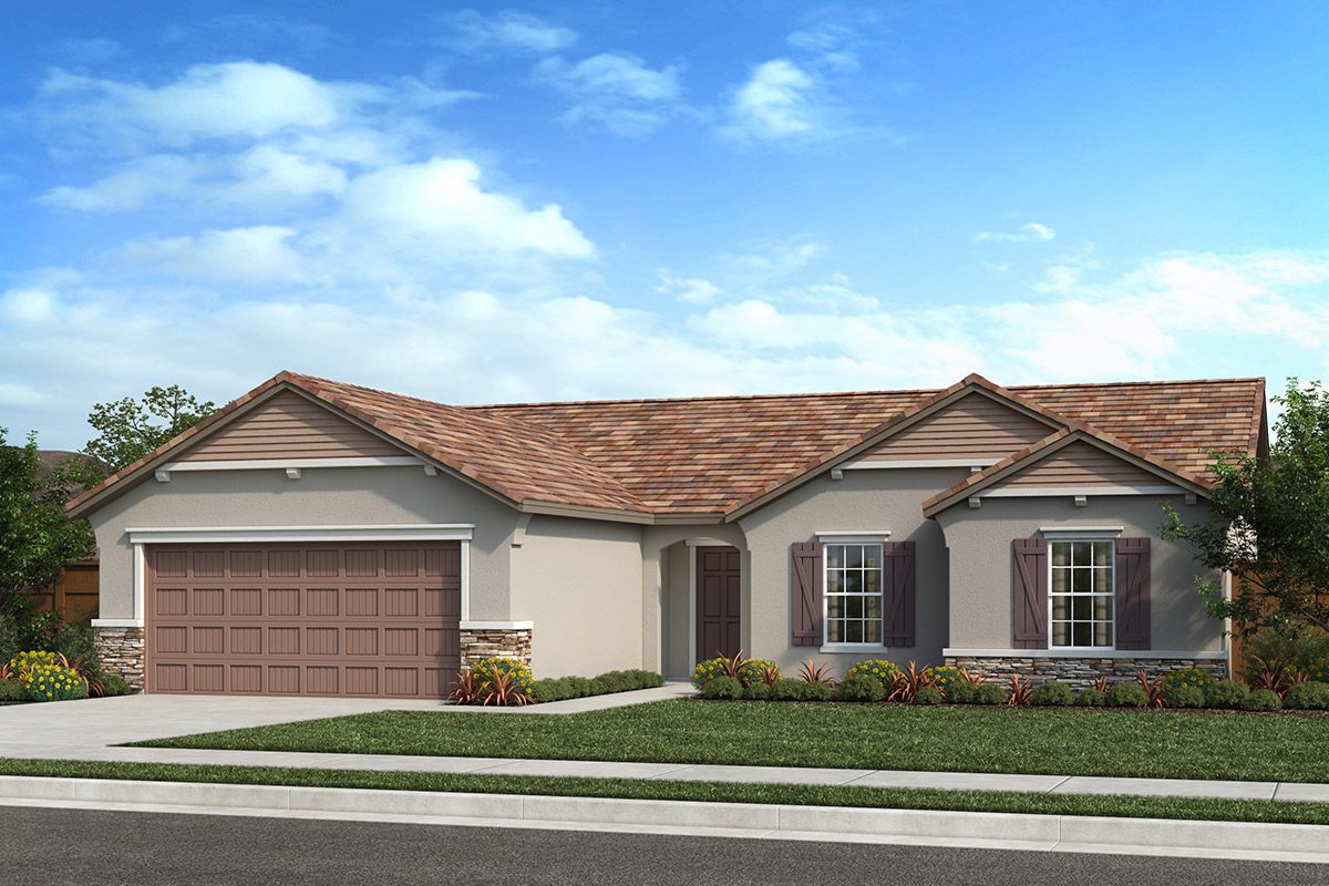 New Homes in Fresno, CA - Seville Plan 1600 Elevation D