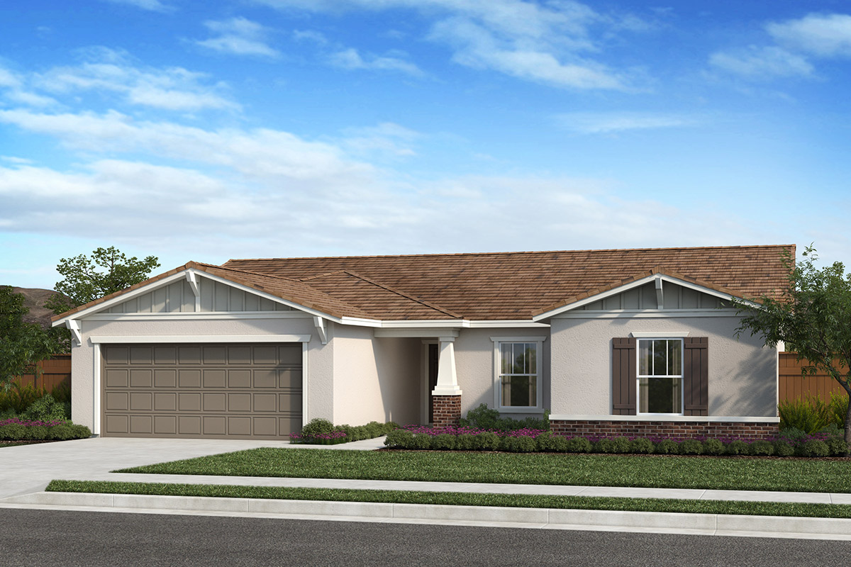 New Homes in Fresno, CA - Elevation B