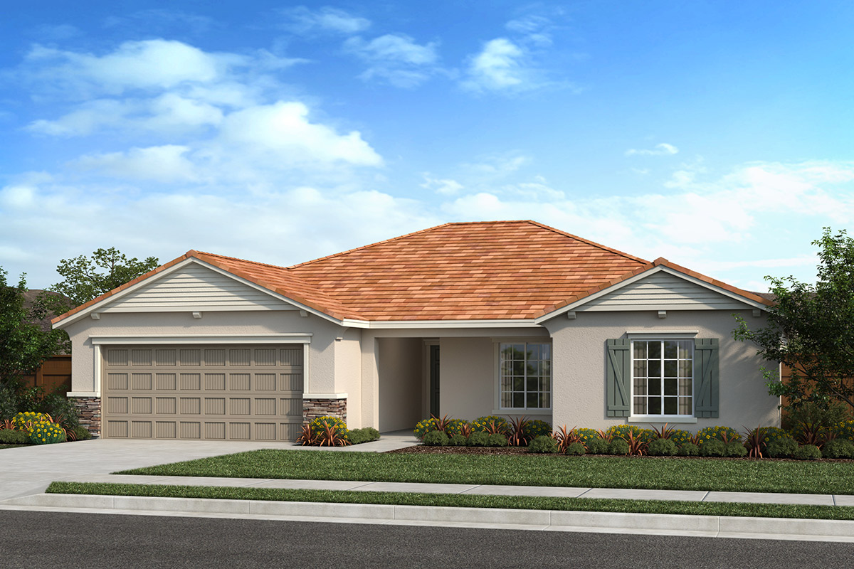 New Homes in Fresno, CA - Seville Plan 1773 Elevation D