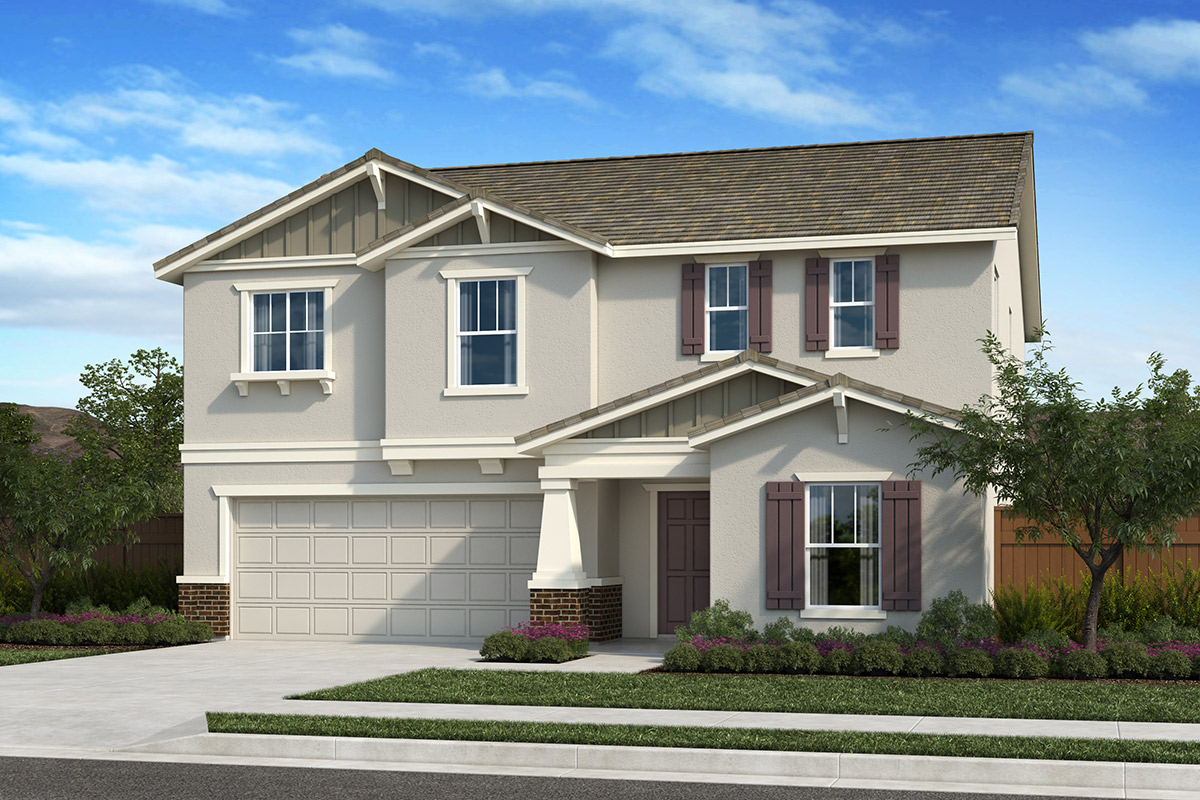 New Homes in Fresno, CA - Seville Plan 2376 Elevation B