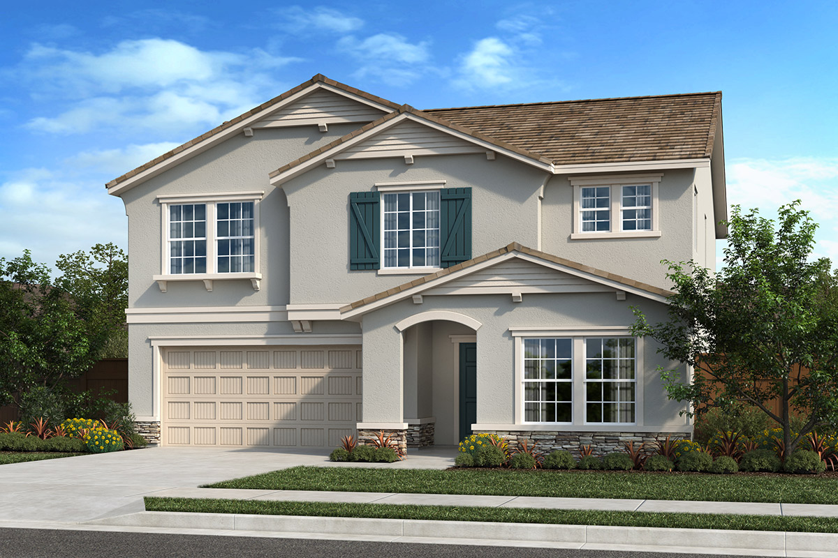 New Homes in Fresno, CA - Seville Plan 2376 Elevation D