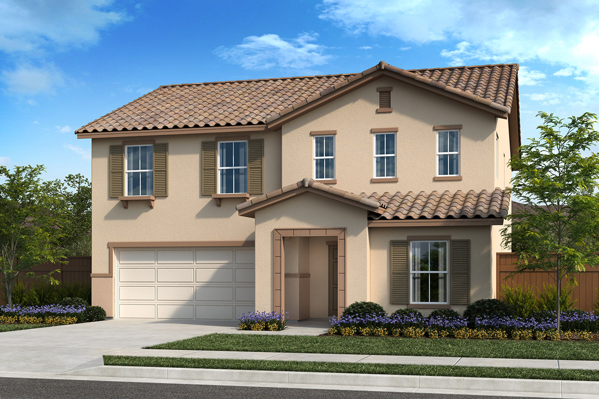 New Homes in Fresno, CA - Seville Plan 2376 Elevation E