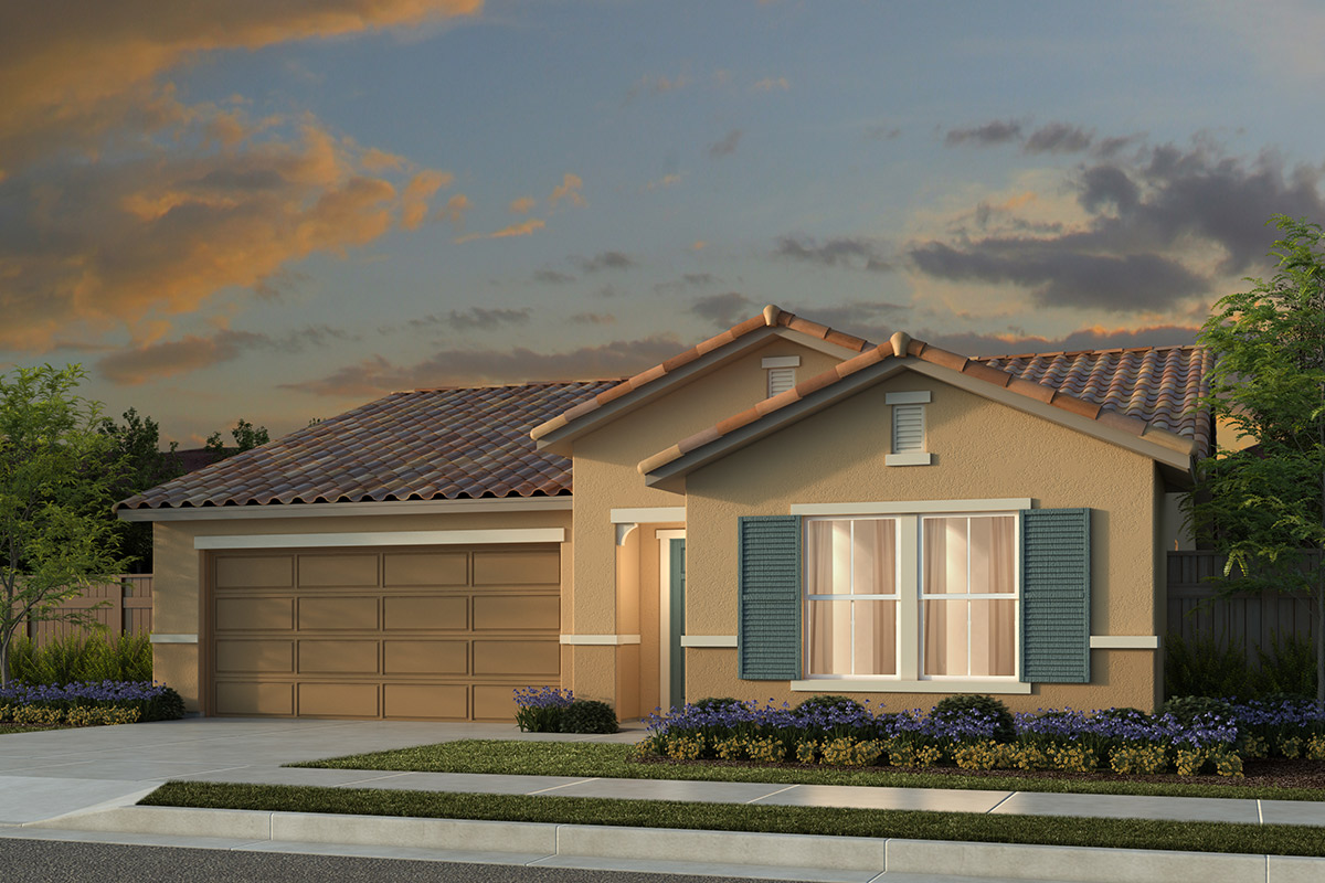 New Homes in Manteca, CA - Haven Villas at Sundance Plan 1481 Tuscan
