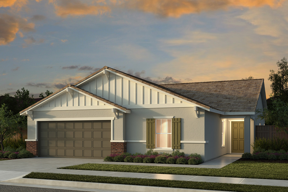 New Homes in Manteca, CA - Plan 1625 Craftsman