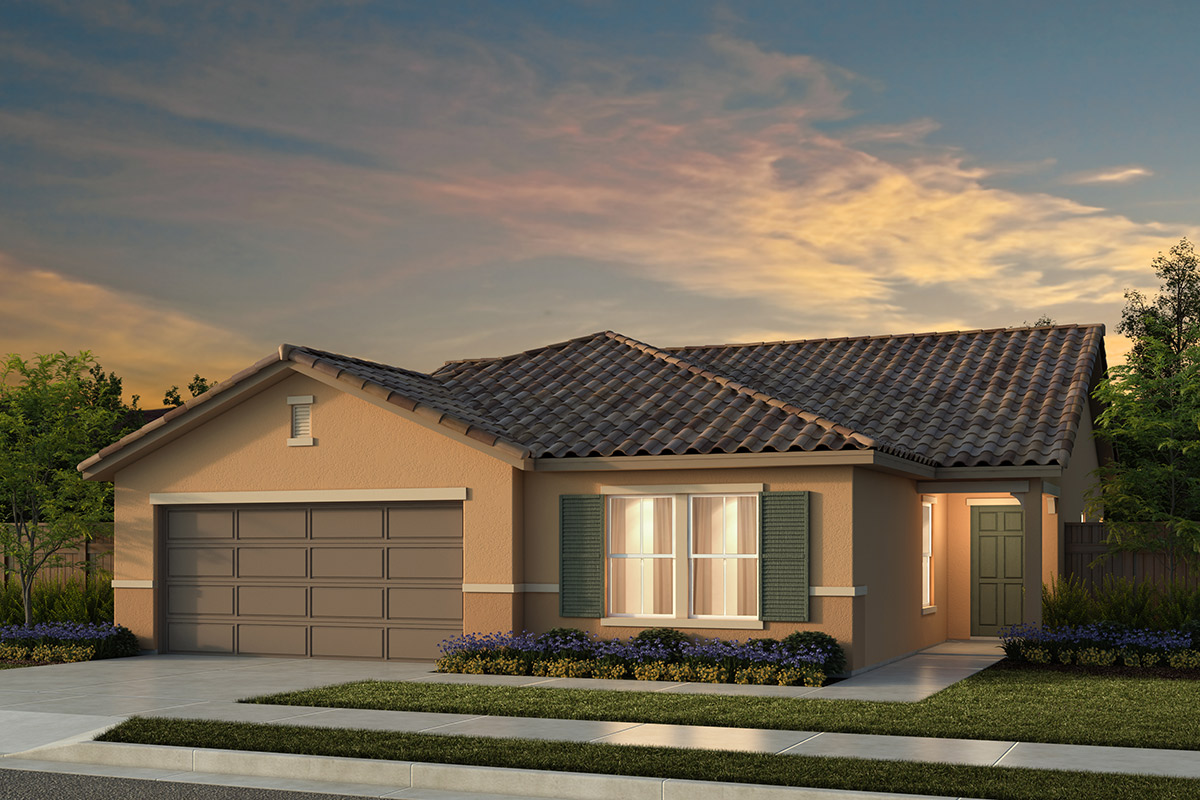 New Homes in Manteca, CA - Haven Villas at Sundance Plan 1625 Tuscan