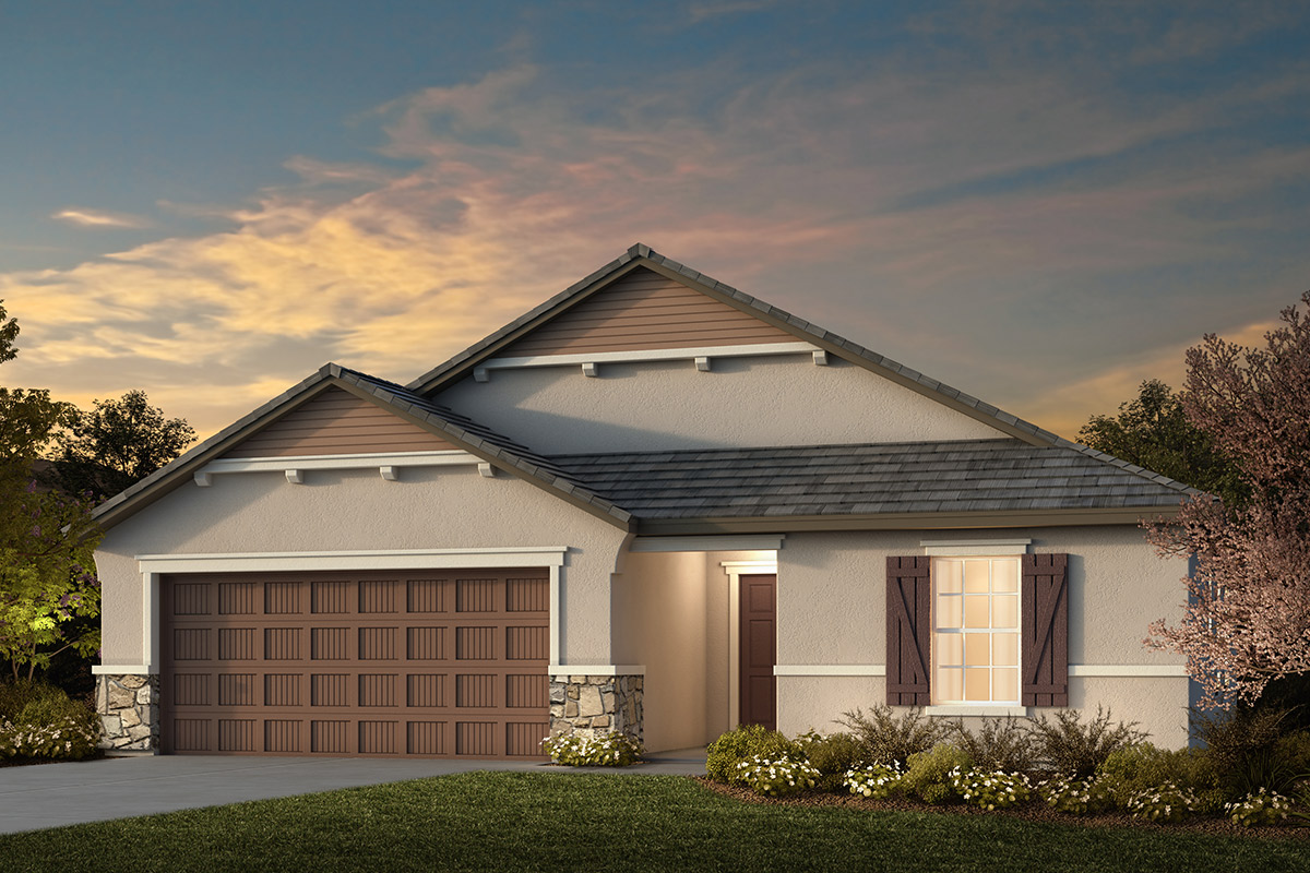 New Homes in Manteca, CA - Plan 1925 French Cottage