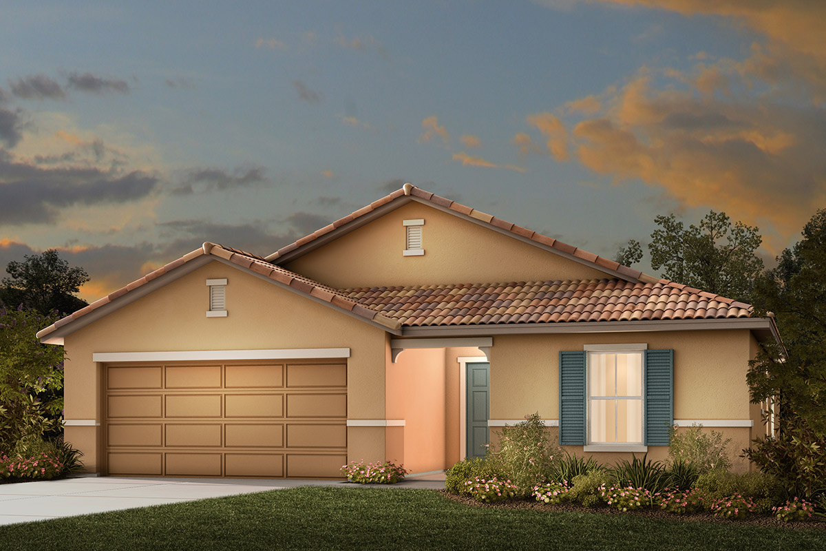 New Homes in Manteca, CA - Plan 1925 Tuscan