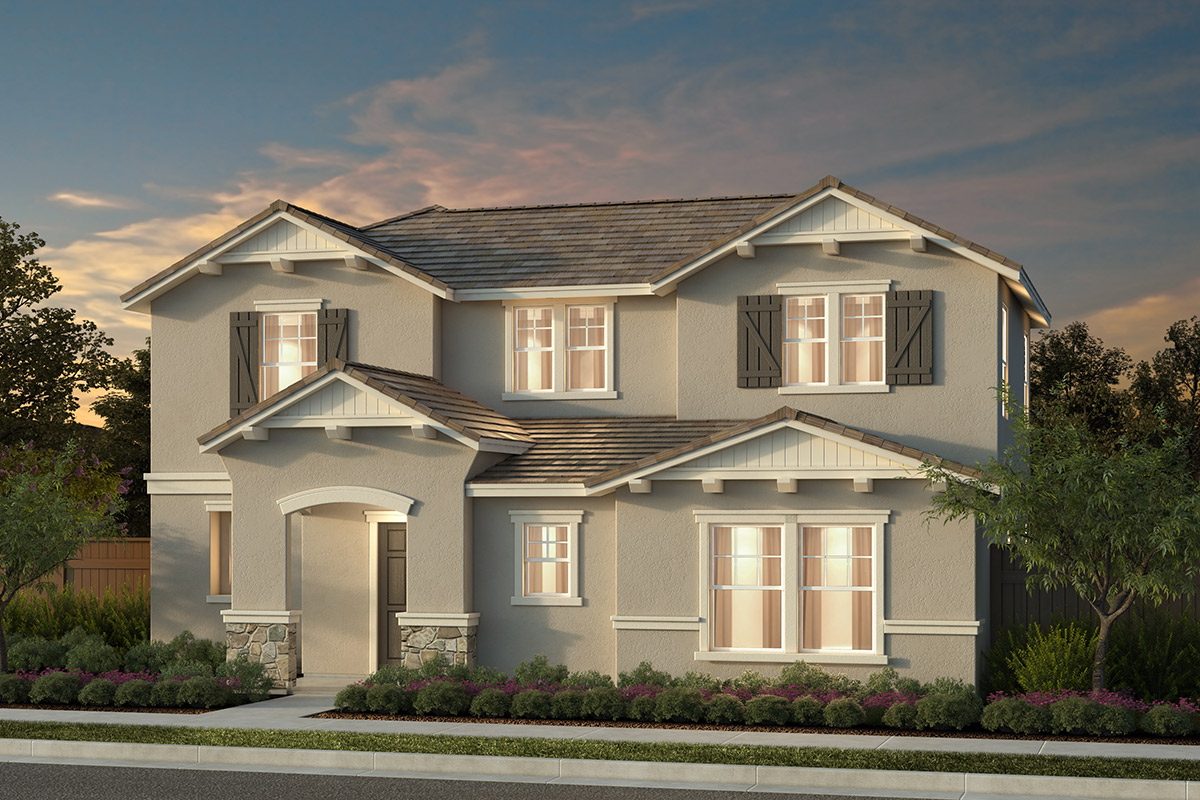 New Homes in Manteca, CA - Haven Cottages at Sundance Plan 2161 Spanish