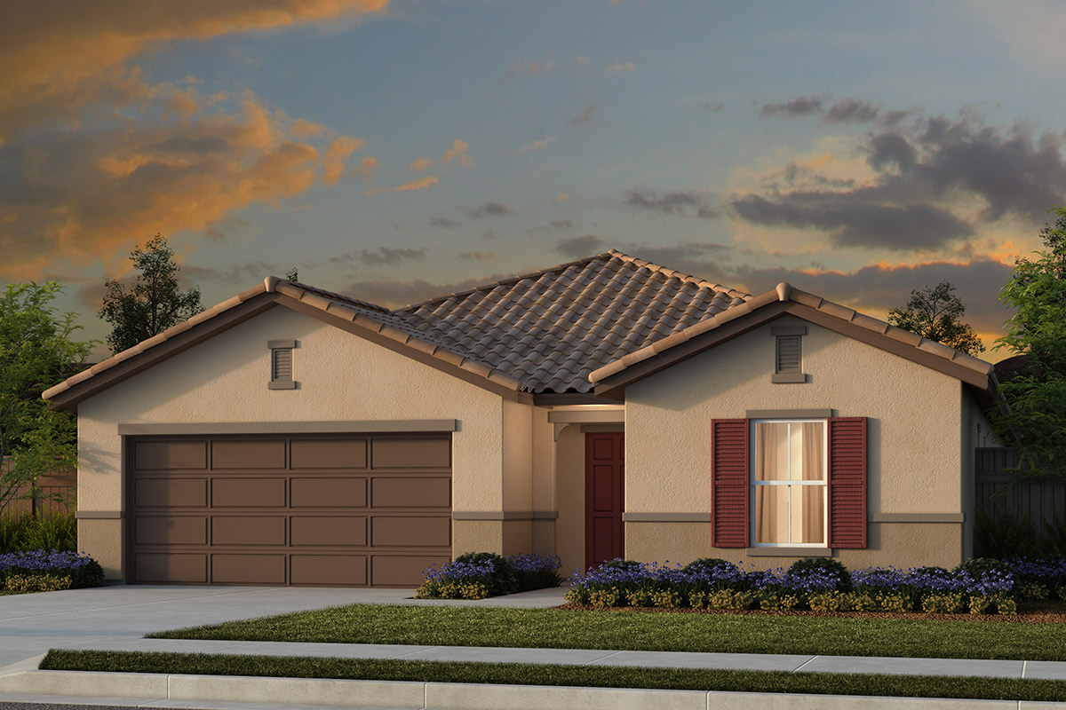 New Homes in Manteca, CA - Plan 2188 Tuscan