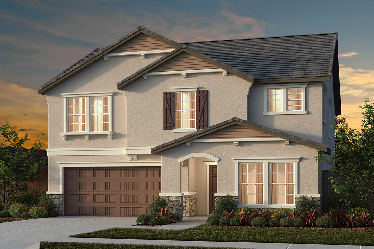 New Homes in Manteca, CA - Plan 2376 French Cottage
