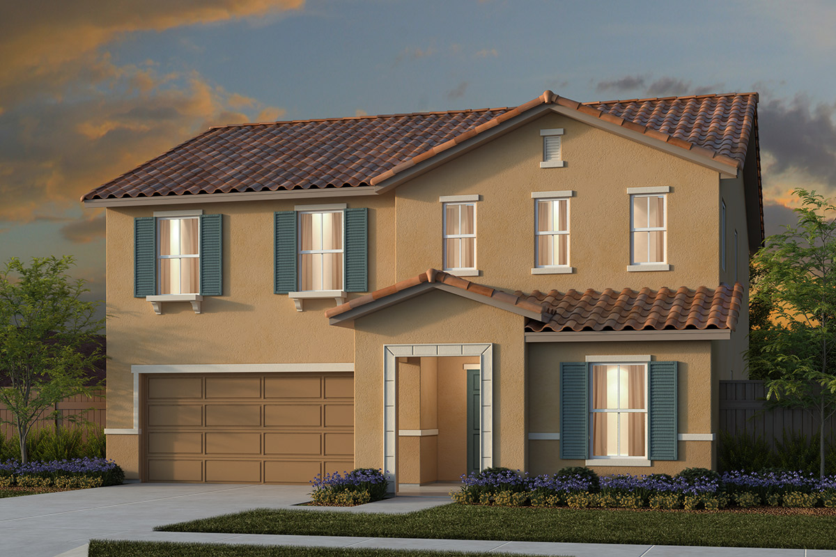 New Homes in Manteca, CA - Plan 2376 Tuscan